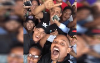 will smith redes sociales video colombia