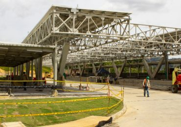 Portal del Norte de Metrolínea, en su recta final